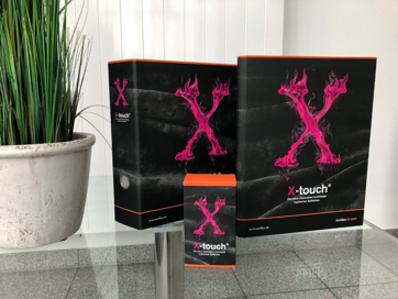 Achilles hat diverse Produkte mit der X-Touch gefertigt