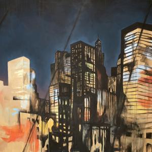Elise Teitz – What I want is what I get, 130 x 200 cm, Acryl auf Leinwand, 2011